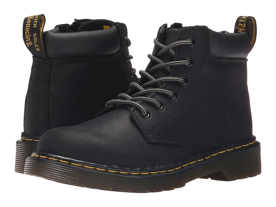 Dr. Martens Kid's Collection - Padley J (Little Kid/Big Kid) (Black) Boys Shoes