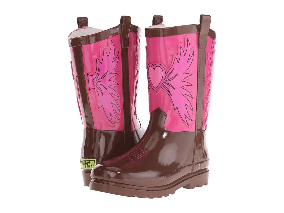 Western Chief Kids - Western Cowgirl (Toddler/Little Kid/Big Kid) (Pink) Girls Shoes