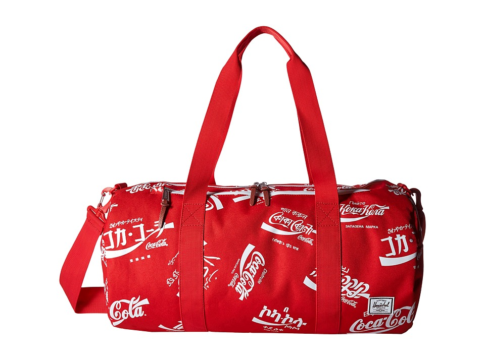Herschel Supply Co. - Sparwood (Red Coca Cola) Duffel Bags
