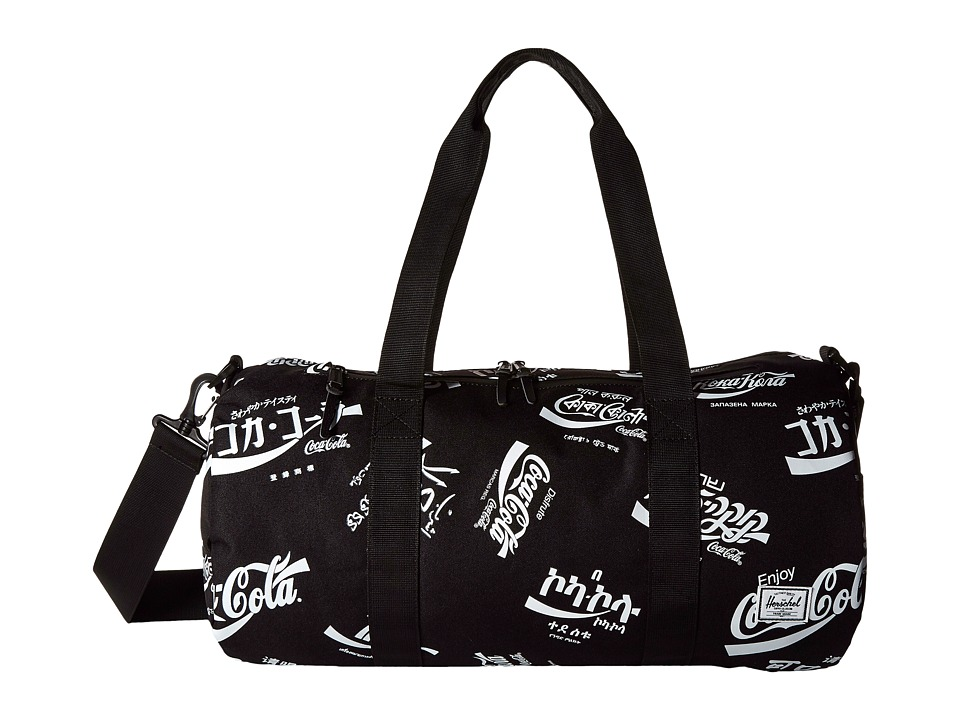 Herschel Supply Co. - Sparwood (Black Coca Cola) Duffel Bags