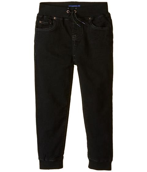 Lucky Brand Kids - Five-Pocket Jogger (Little Kid/Big Kid) (Black) Boy