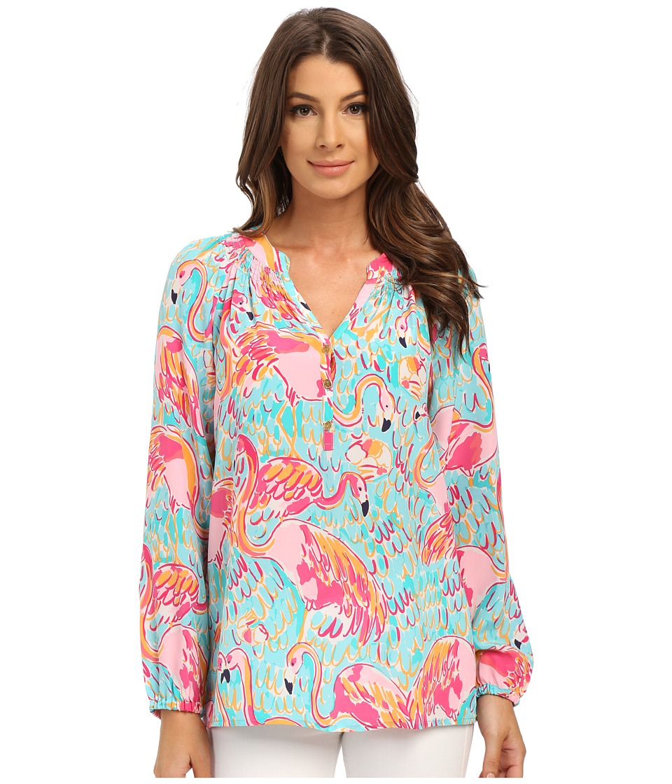 Lilly Pulitzer - Elsa Top (Multi Peel and Eat) Women's Blouse