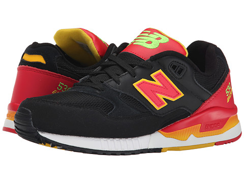 New Balance Classics - M530 (Black/Red) Men's Classic Shoes