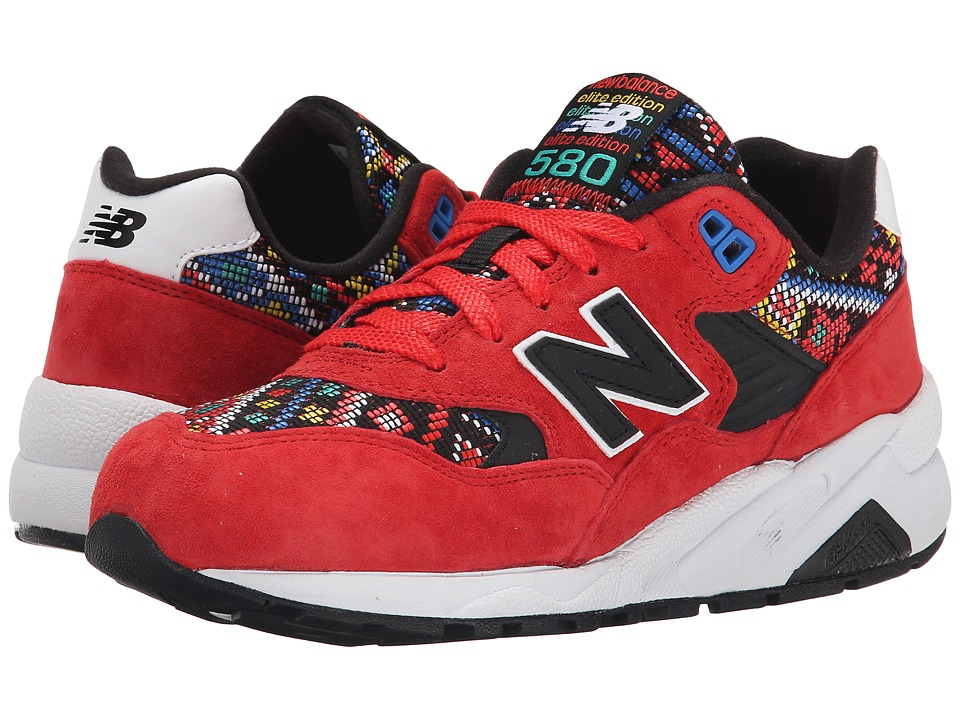 New Balance Classics - WRT580 (Red/Black) Women's Classic Shoes