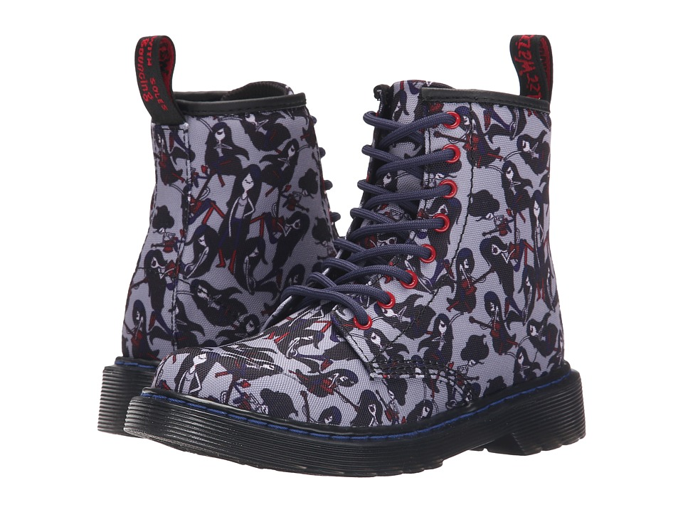 Dr. Martens Kid's Collection - Delaney (Little Kid/Big Kid) (Grey Kids Marceline) Kids Shoes