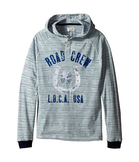 Lucky Brand Kids - Road Crew Long Sleeve (Big Kid) (Turtle Dove) Boy