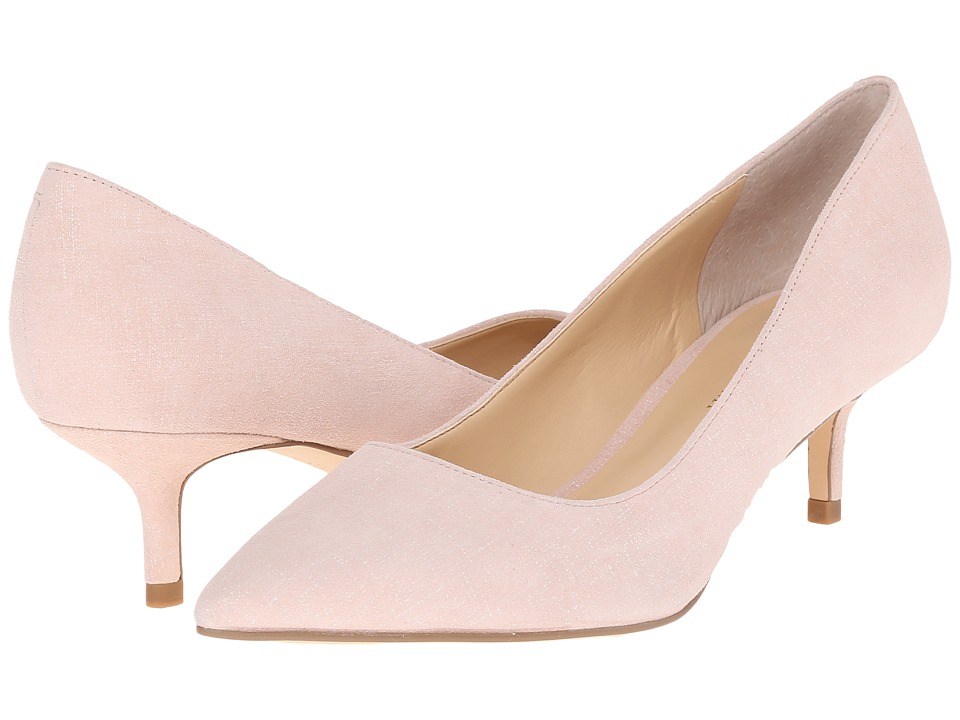 Ivanka Trump - Athyna (Soft Pink/White Suede) Women's Shoes