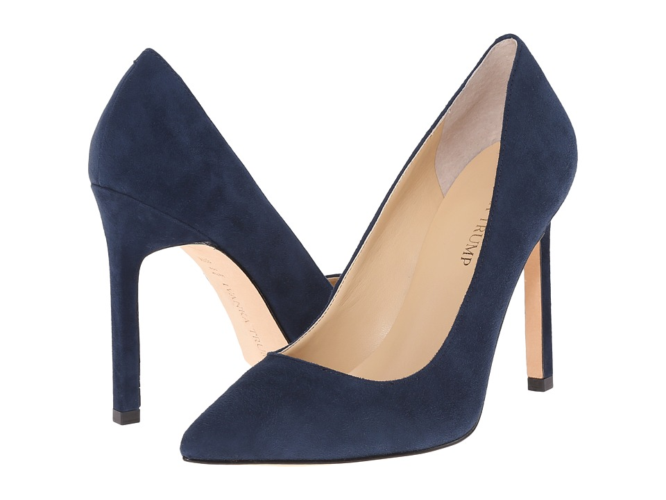 Ivanka Trump Carra (Tibet Navy Suede) High Heels