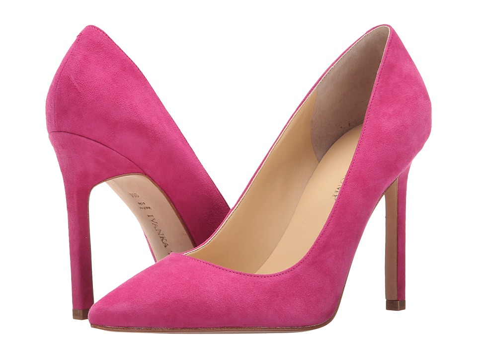 Ivanka Trump Carra (Light Melon Suede) High Heels