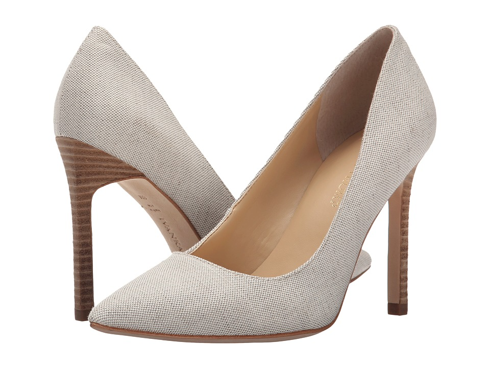 Ivanka Trump Carra 4 (Beige Fabric) High Heels