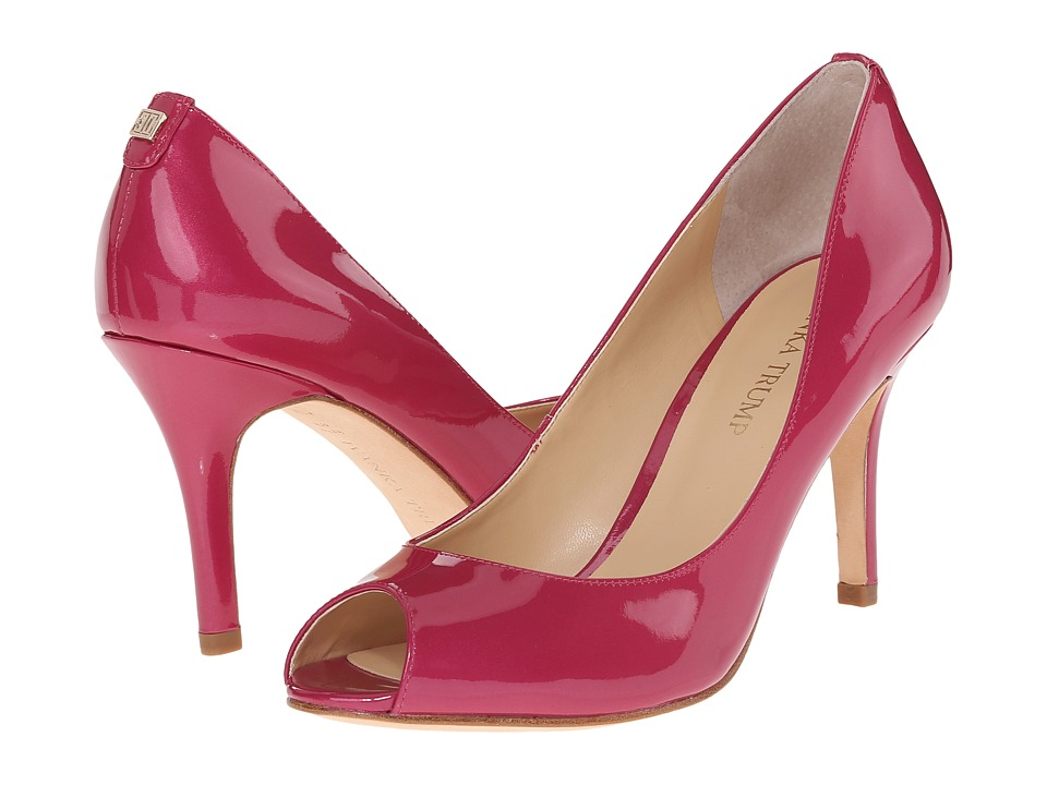 Ivanka Trump Cleo (Light Fuschia/New Luster Patent) High Heels