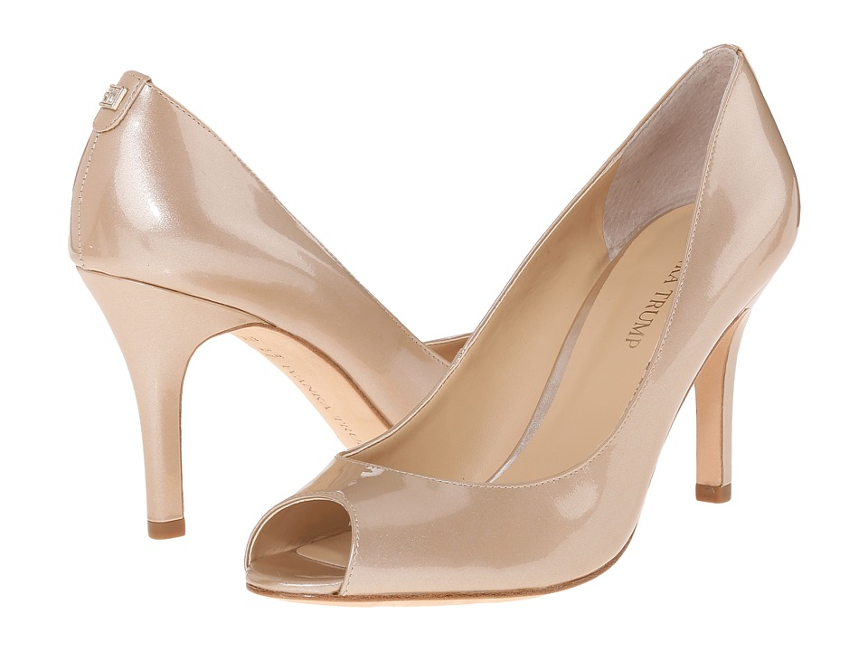Ivanka Trump Cleo (Sandy/New Luster Patent Leather) High Heels