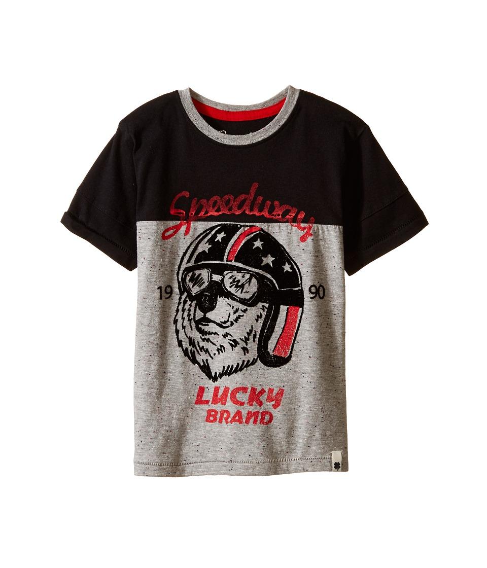Lucky Brand Kids - Speedway Tee (Little Kid/Big Kid) (Moonless Night) Boy