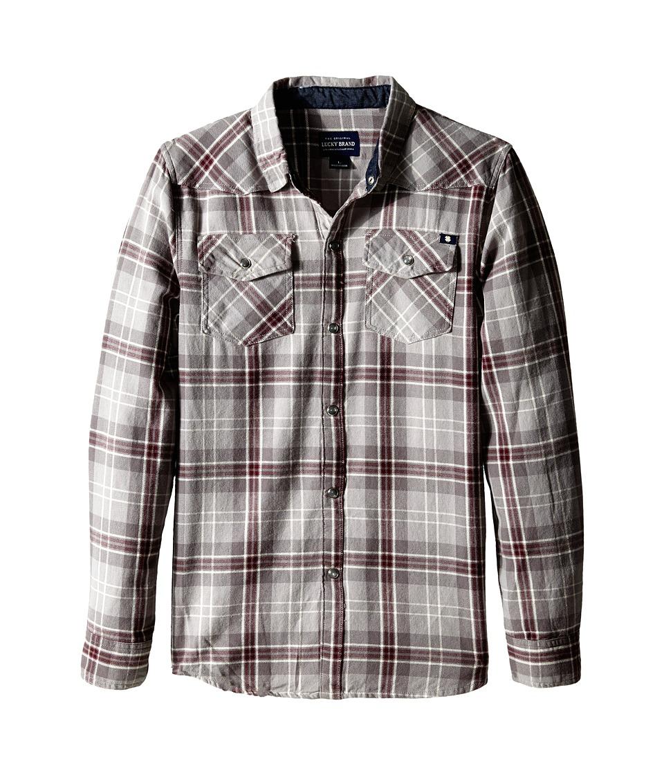 Lucky Brand Kids - Legend Western (Big Kid) (Griffin) Boy's Long Sleeve Button Up