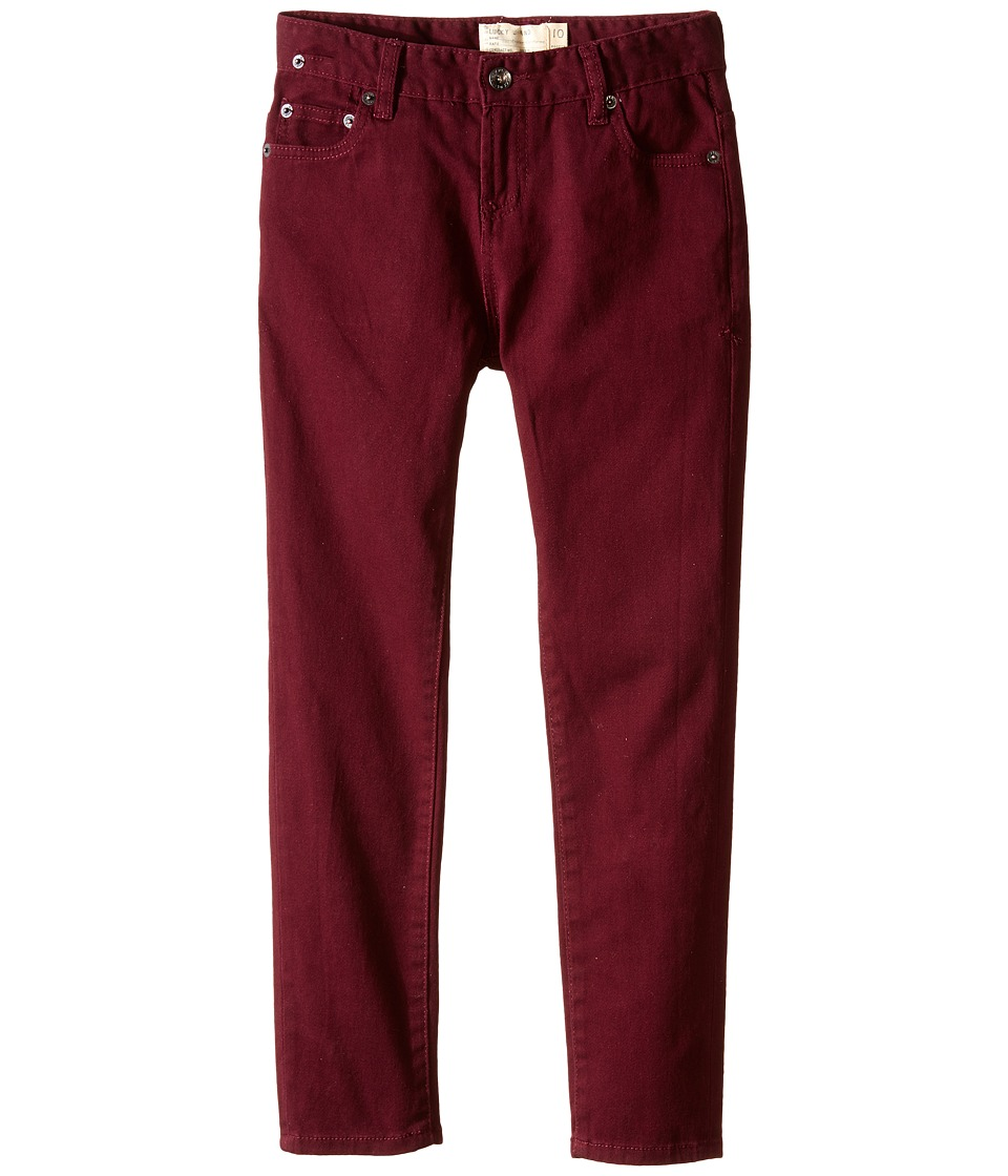 Lucky Brand Kids - Cooper Slim Fit Jeans (Big Kid) (Dark Cherry) Boy
