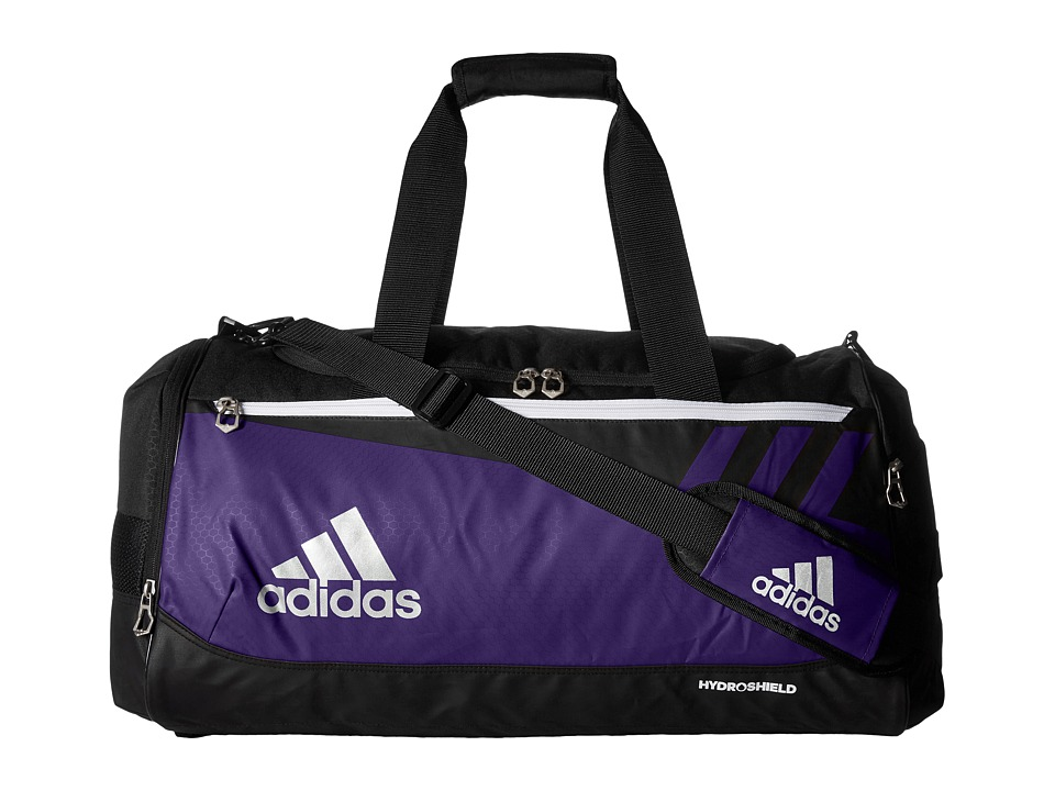 adidas - Team Issue Small Duffel (Collegiate Purple) Duffel Bags