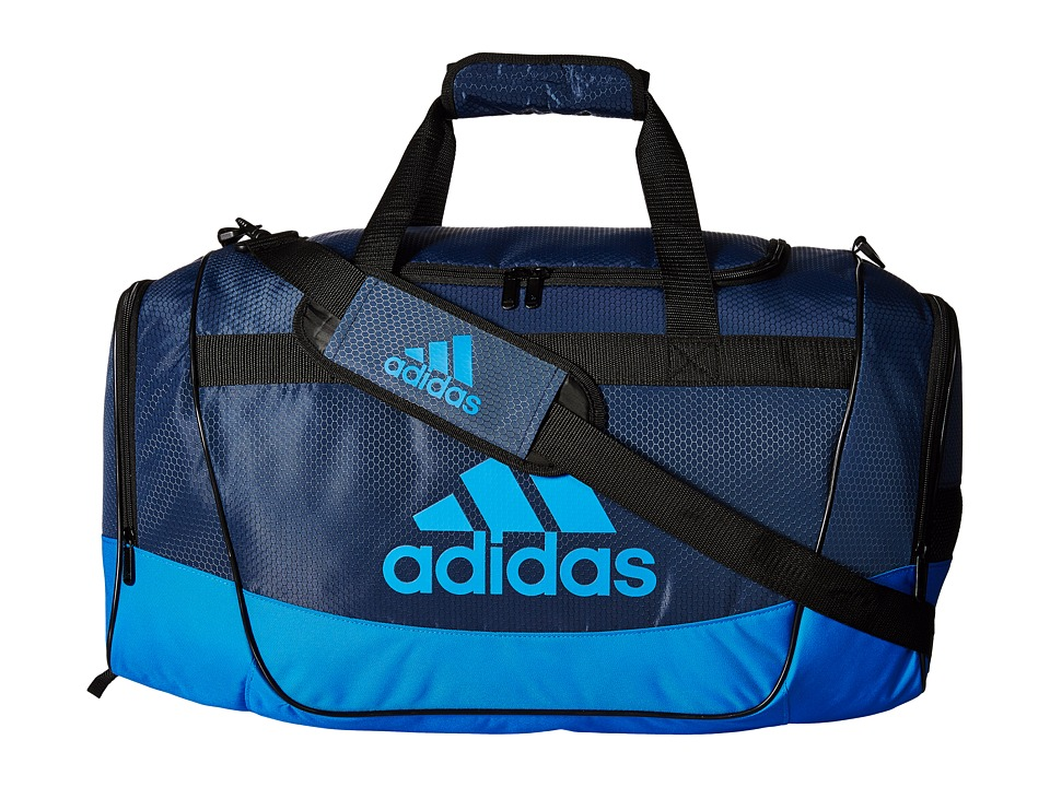 Image of adidas - Defender II Duffel Medium (Mineral Blue/Shock Blue) Duffel Bags