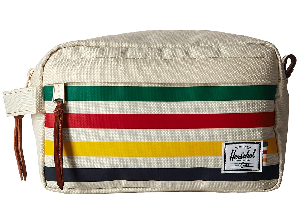 Herschel Supply Co. - Chapter (HBC Offset Stripe) Toiletries Case