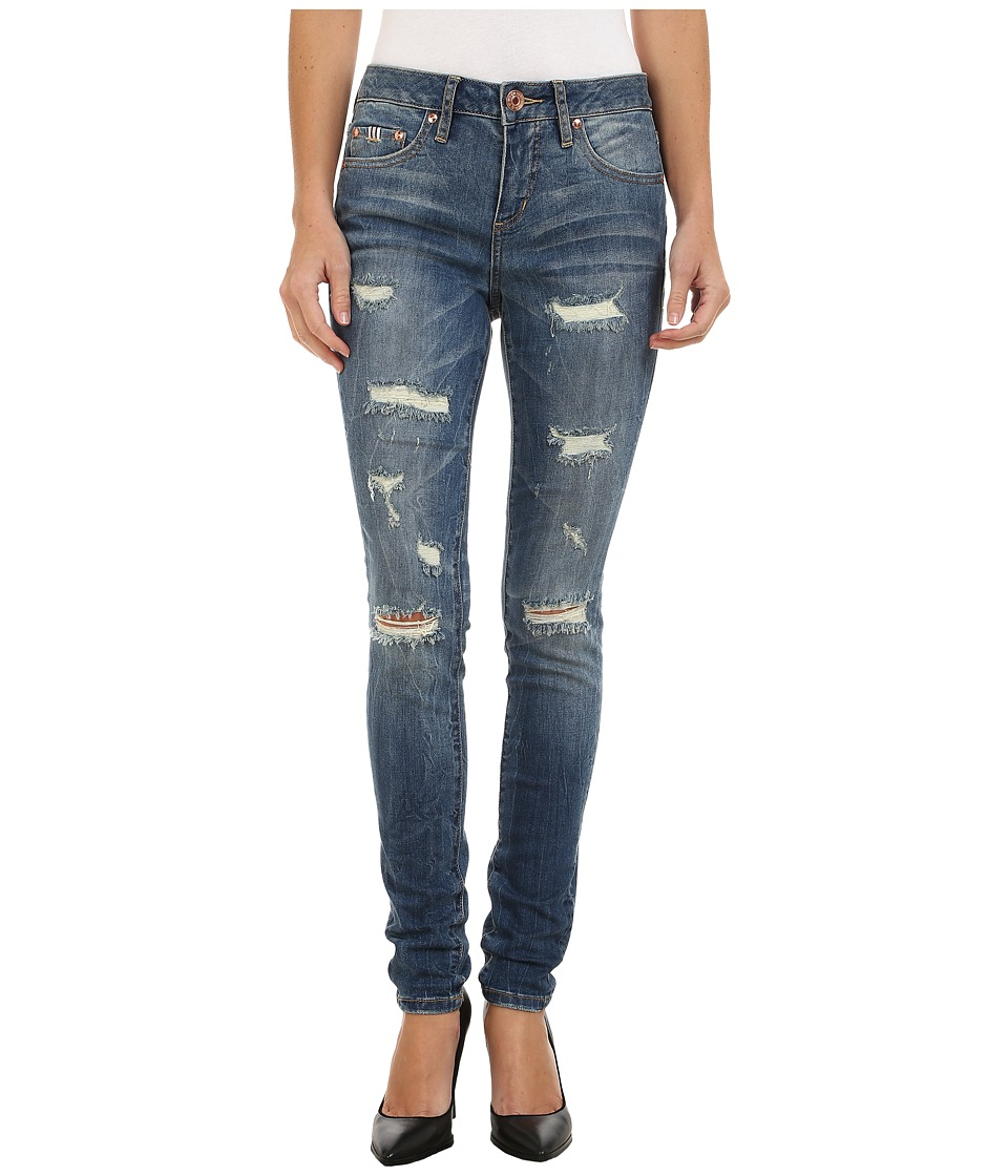 Jag Jeans - Sheridan Skinny Capital Denim in Blue Carbon (Indigo) Women's Jeans