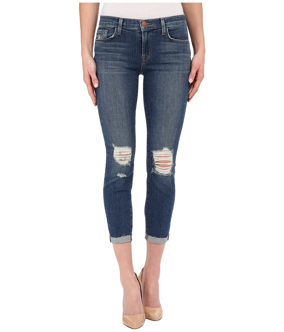 J Brand - Mid-Rise Crop in Breathless (Breathless) Women's Jeans