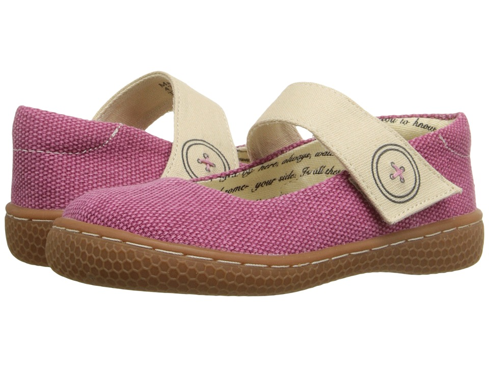 Livie & Luca - Carta II (Toddler/Little Kid) (Dark Pink) Girl's Shoes
