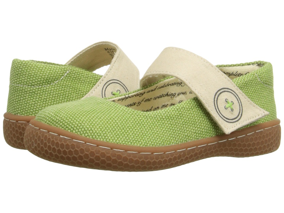 Livie & Luca - Carta (Toddler/Little Kid) (Grass Green) Girl's Shoes