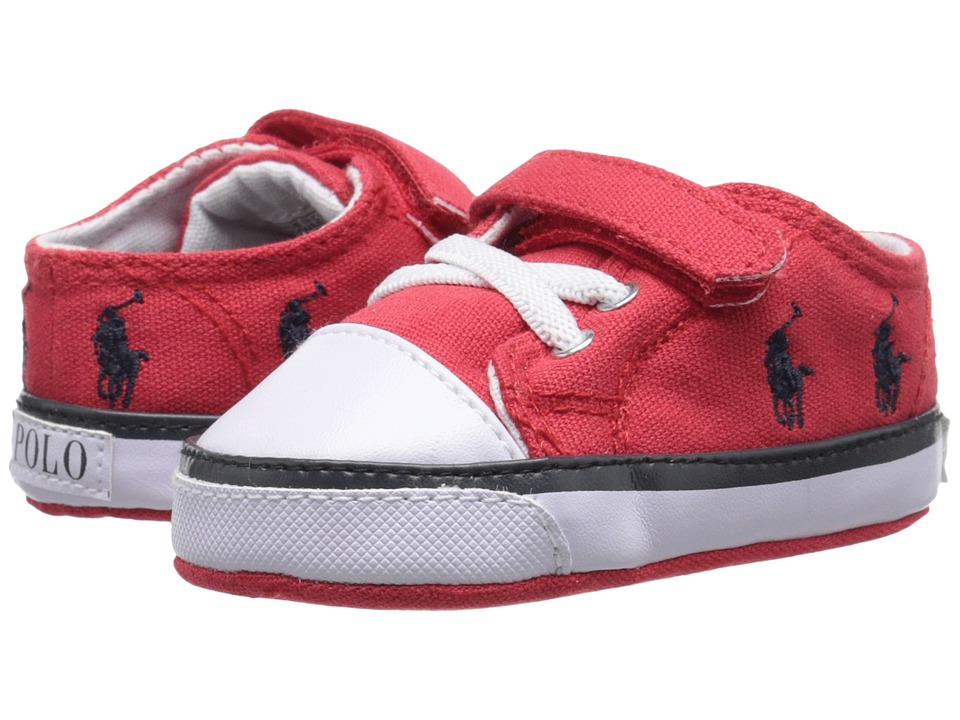 Polo Ralph Lauren Kids - Kody (Infant/Toddler) (Red/Navy) Boy's Shoes