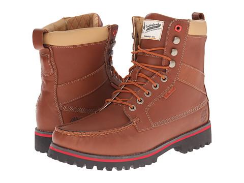 Timberland Boot Company - 9 Eye Moc Toe Boot (Light Brown) Men