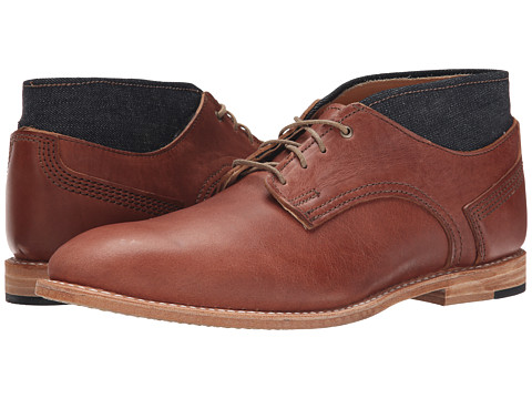 Timberland Boot Company - Coulter Chukka Boot (Brown/Denim) Men's Boots