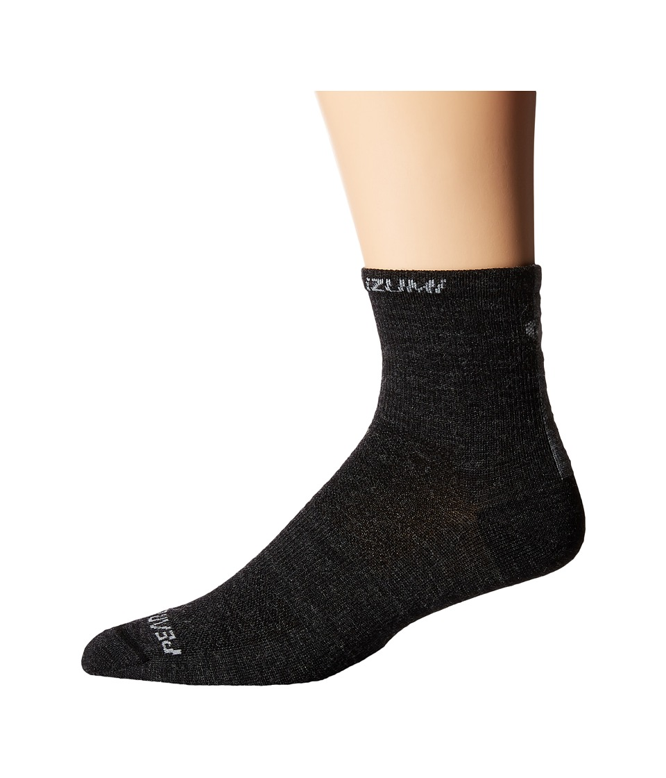 Pearl Izumi - Elite Wool Sock (Black) Men's Crew Cut Socks Shoes