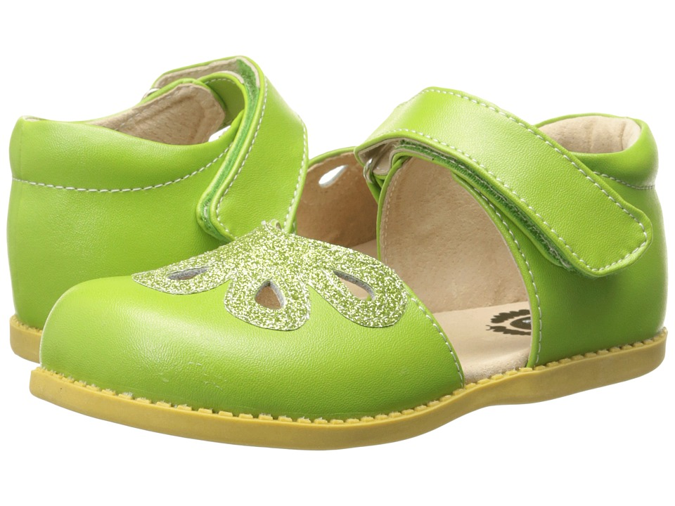Livie & Luca - Petal (Toddler/Little Kid) (Grass Green) Girl's Shoes