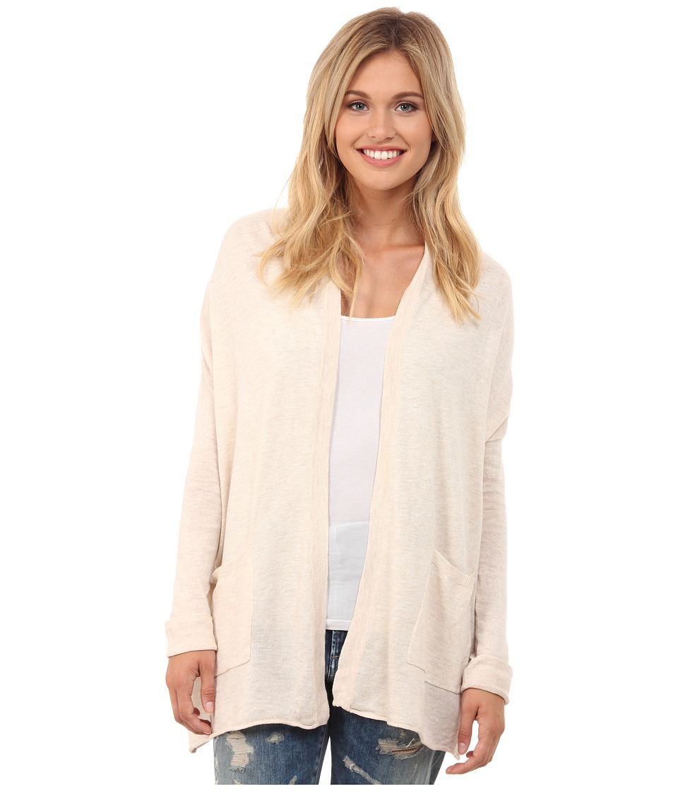 Billabong - Outside The Lines Cardigan (White Cap) Women's Sweater