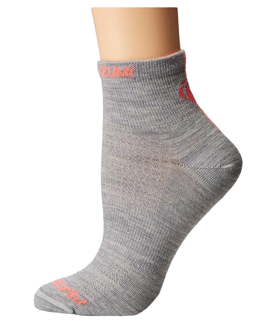 Pearl Izumi - Elite Wool Sock (Limestone) Women's Crew Cut Socks Shoes