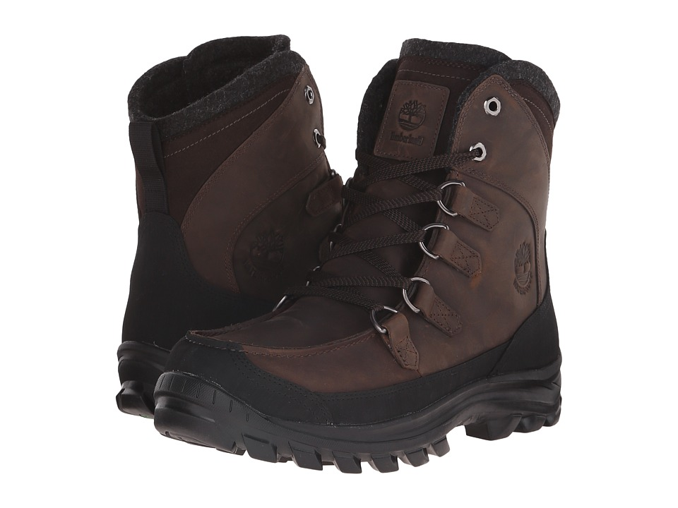 Timberland - Chilberg Premium Waterproof Boot (Brown) Men's Waterproof Boots
