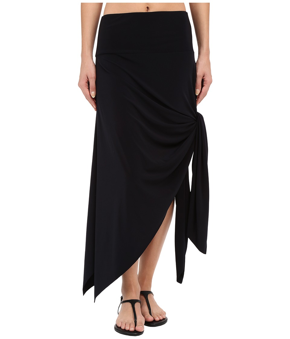 Magicsuit - Jersey Handkerchief Skirt Dress (Black) Women's Skirt