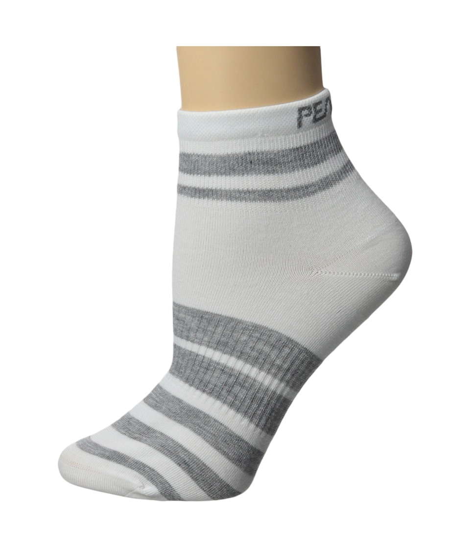 Pearl Izumi - W Elite Sock (PI Core White) Women's Crew Cut Socks Shoes