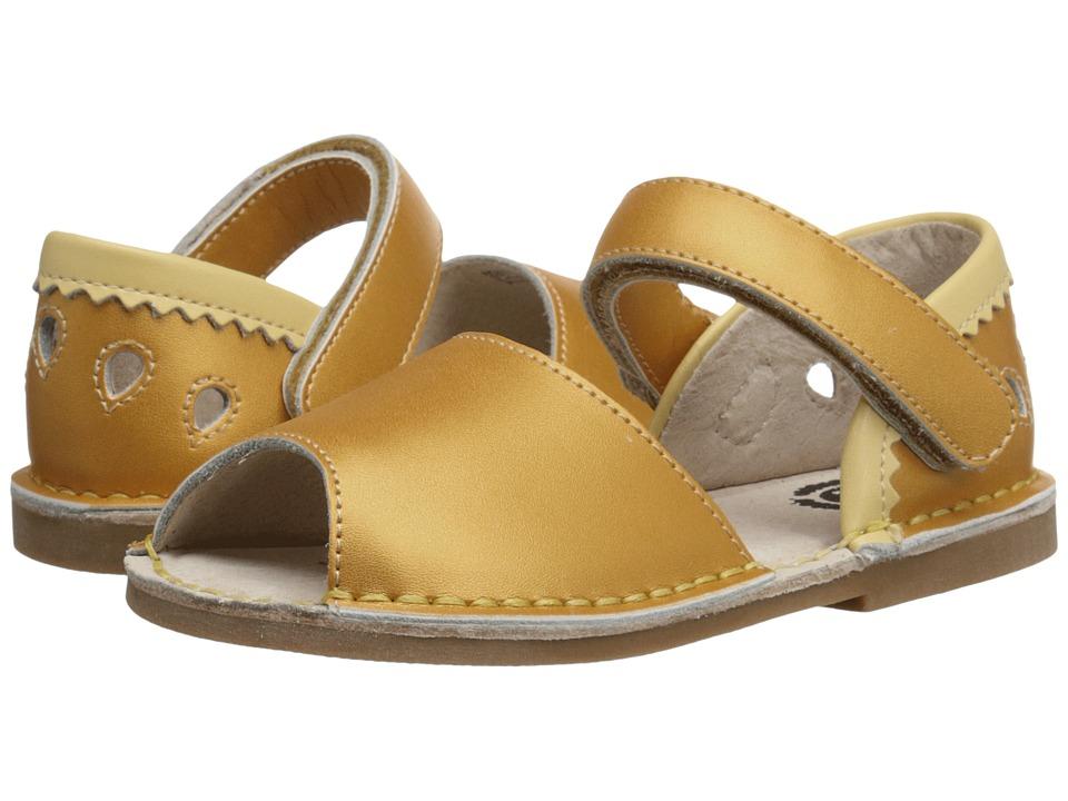 Livie & Luca - Kea (Toddler/Little Kid) (Yellow) Girl's Shoes