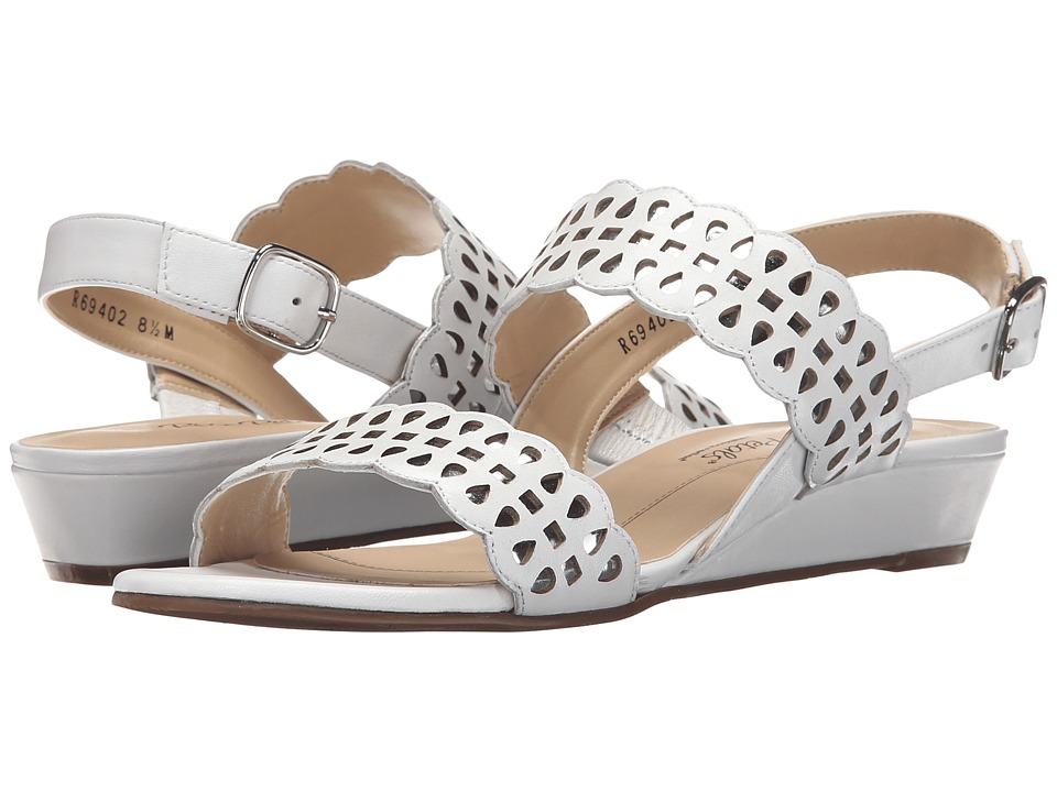 Rose Petals - Jolie (White Nappa) Women's Sandals