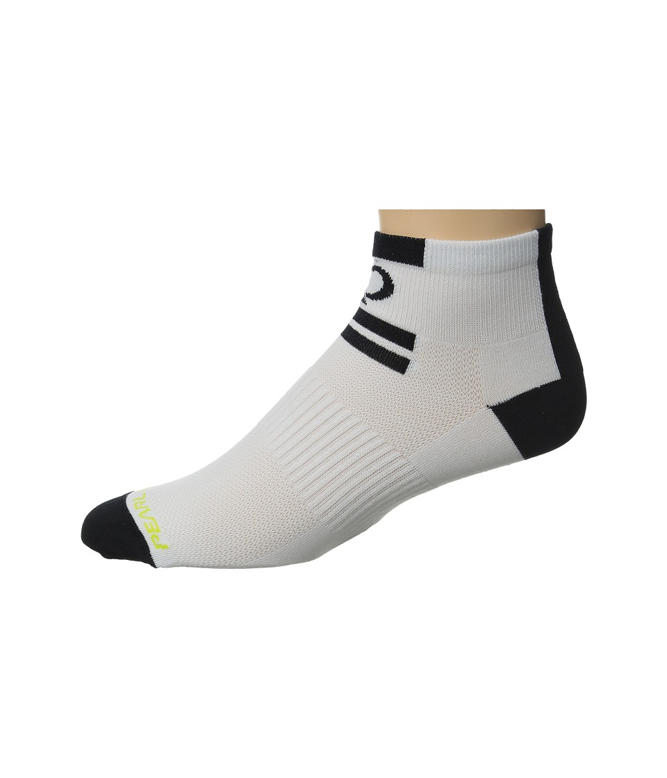Pearl Izumi - Elite Low Sock (Core White) Men's Crew Cut Socks Shoes