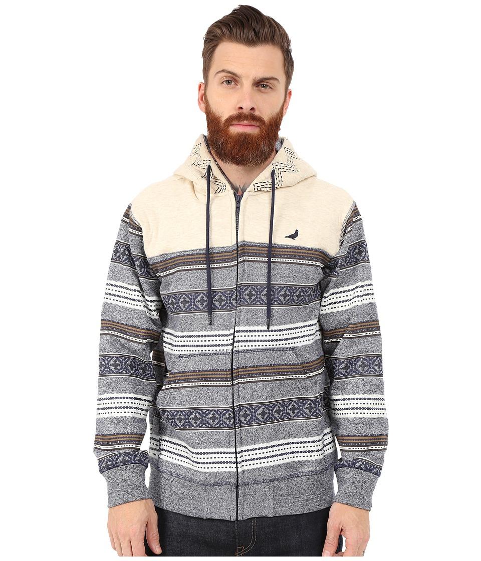 Staple - Breakneck Zip Hoodie (Indigo) Men's Sweatshirt
