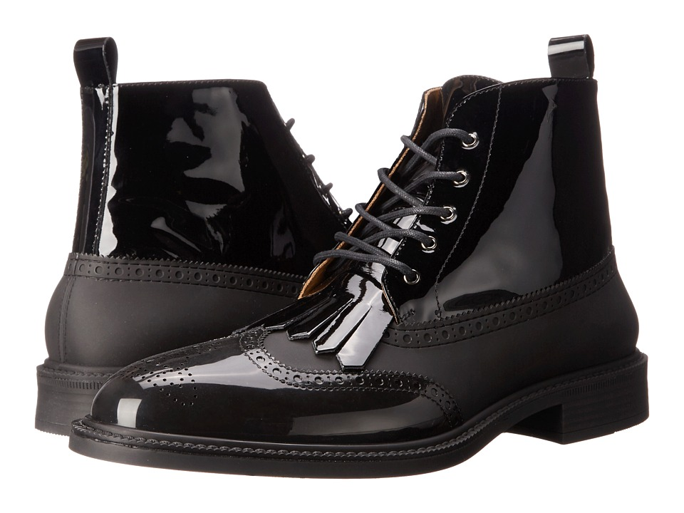 Vivienne Westwood - High Lace-up Boot (Black) Men's Lace-up Boots
