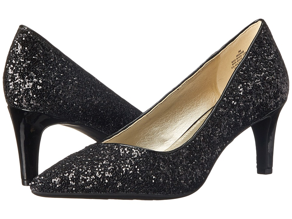 Anne Klein - Barb (Black Synthetic) High Heels