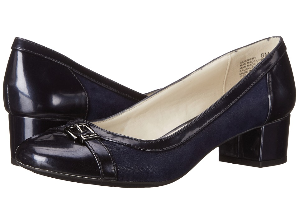 Anne Klein - Hubert (Navy Multi Synthetic) Women's 1-2 inch heel Shoes