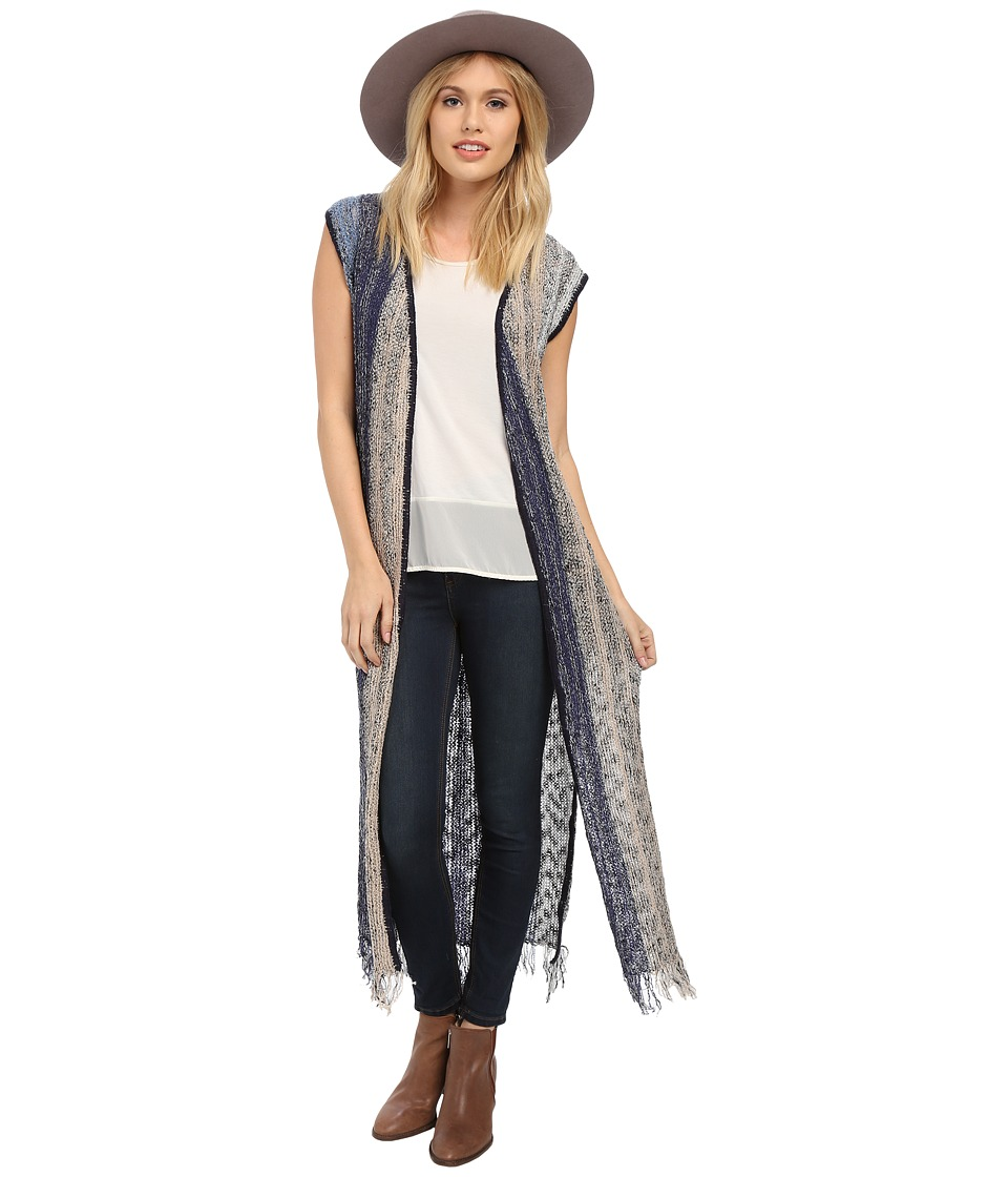 BCBGeneration - Knit Vest (Dusk Blue) Women's Vest