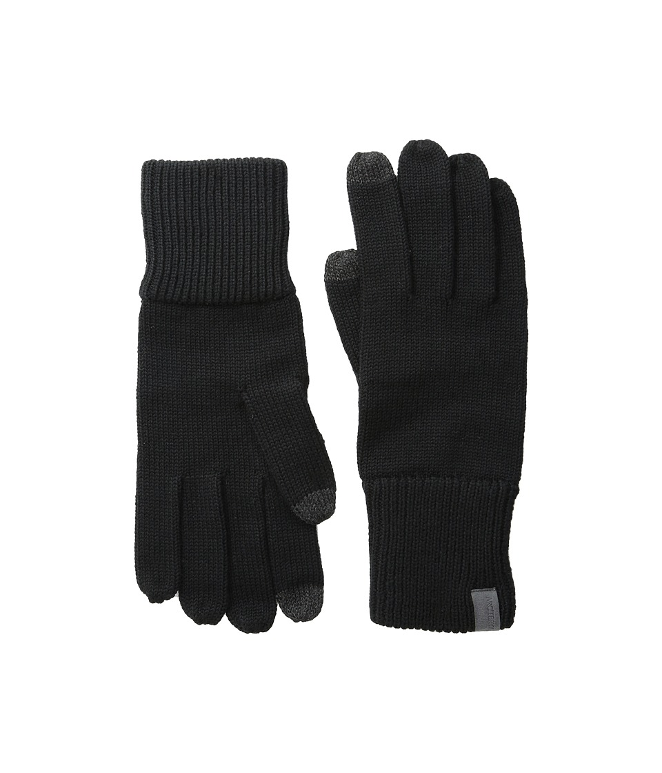 Arc'teryx - Diplomat Gloves (Black) Wool Gloves