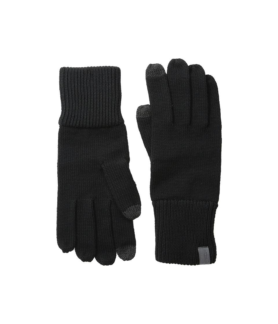 Arc'teryx - Diplomat Gloves (Black) Wool Gloves