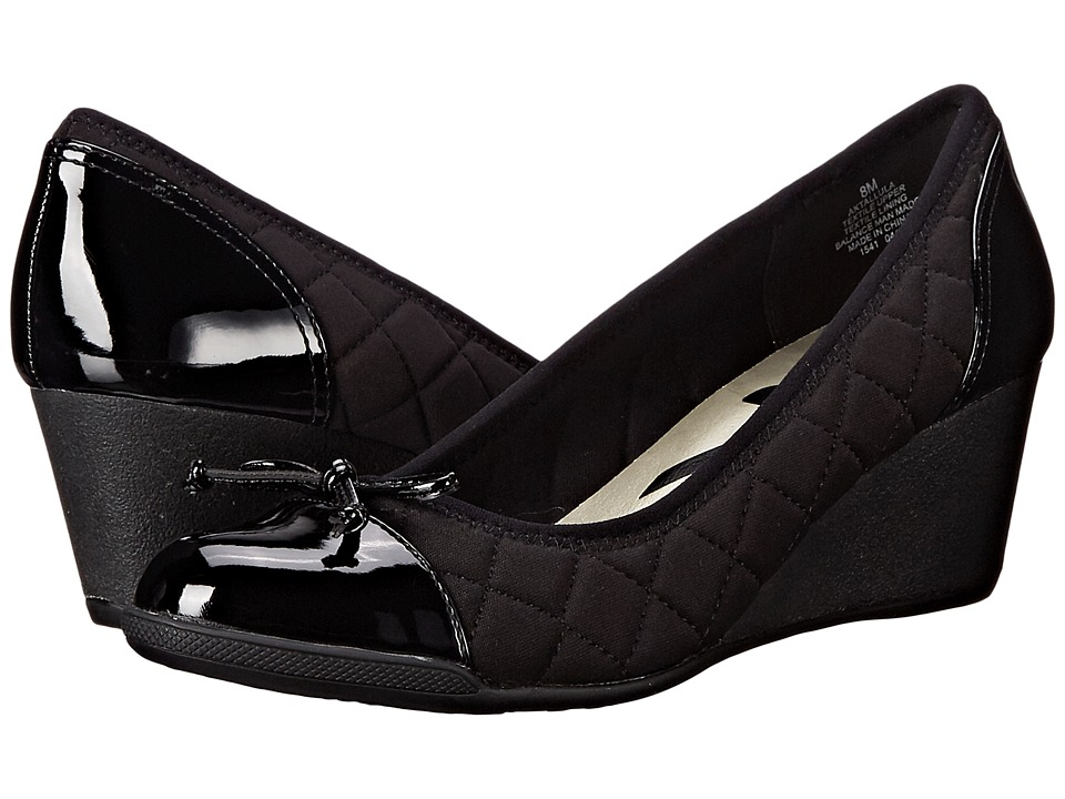 Womens Shoes Anne Klein Tallula Black Multi Fabric