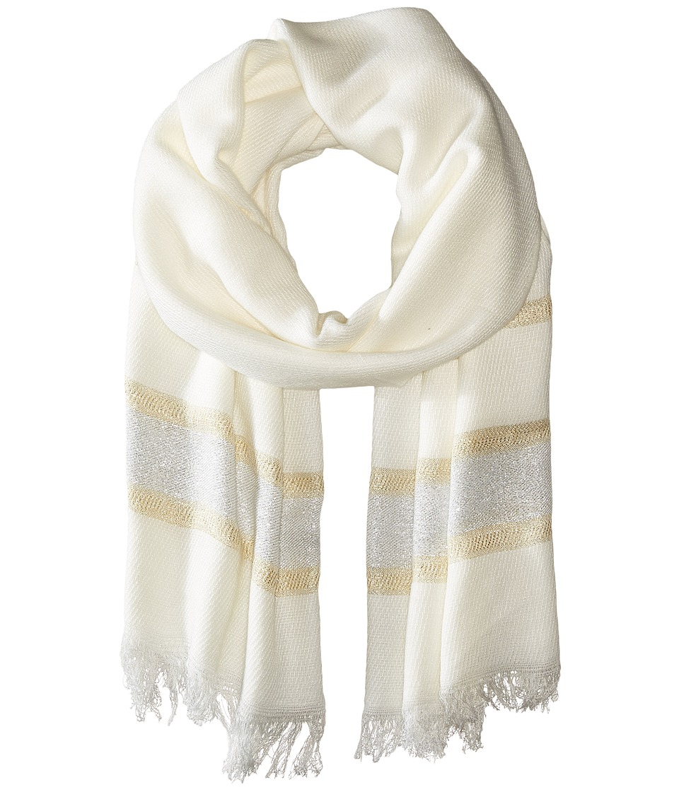 BCBGeneration - Luxe Livin Scarf (Optic White) Scarves