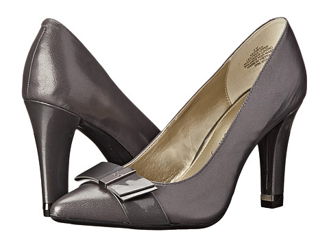 Anne Klein - Thyra (Dark Grey/Dark Grey Leather) Women