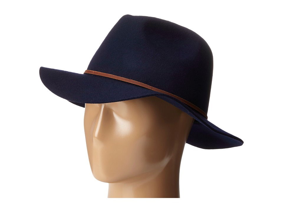 Brixton - Wesley Fedora (Navy) Traditional Hats